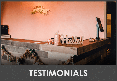 Patient Testimonials at Thirty3 Chiropractic